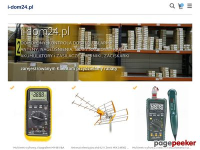 I-dom24.pl - elektrozaczepy, rygle i elektromagnesy