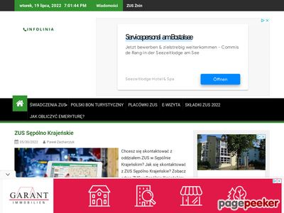 Wyszukiwarka ZUS - infoliniaZus.pl