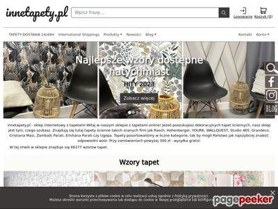 Tapety ścienne- sklep internetowy