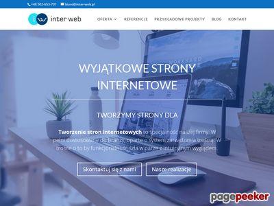 Inter Web - Projektowanie stron www