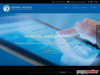 Pozycjonowanie stron, sklepy internetowe - Internet Projects