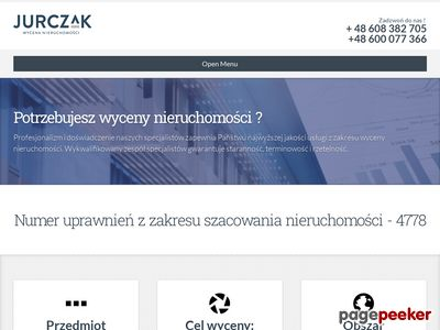 Jurczak - Rzeczoznawca majątkowy Bielsko-Biała