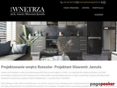 Sławomir Jamuła - projektowanie wnętrz Rzeszów