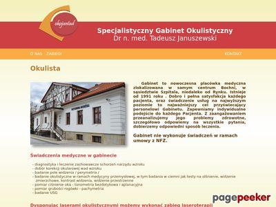 Okulista Tadeusz Januszewski Kraków