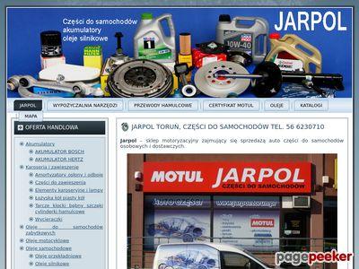 Części do samochodów Jarpol, Toruń