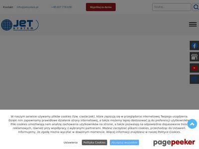 Cięcie wodą WaterJet - JetSystem