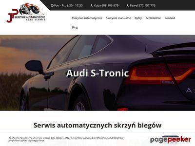 Naprawa skrzyń biegów - automatyczne, manualne JP Skrzynie Automatyczne