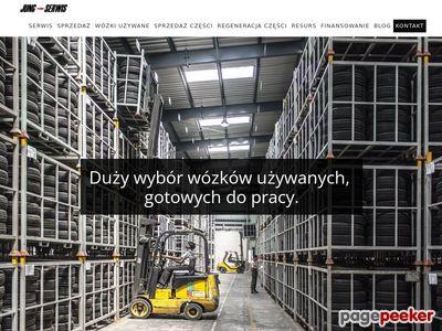 Wózki widłowe Poznań