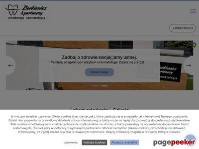 B.KAISER-ZIORKIEWICZ aparaty zębow