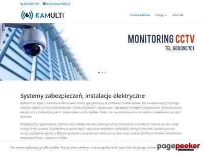 Instalacja monitoringu Telewizja przemysłowa