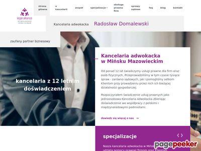 www.kancelariaminsk.pl