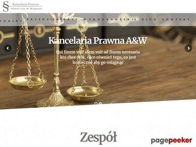 Adwokat Warszawa - Bemowo, Ochota, Włochy, Wola