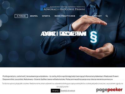 Usługi prawnicze Białystok - http://kancelariarp.pl
