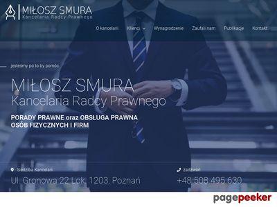 Obsługa prawna firm Poznań