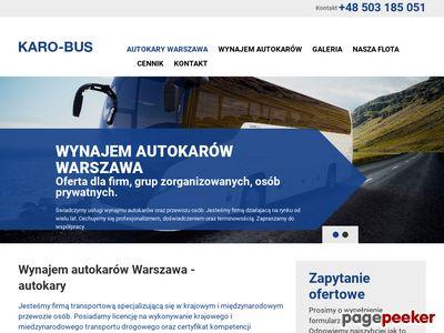 Karo - Bus Przewóz Osób Dariusz Szpakowski