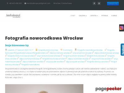 FOTOGRAFIA noworodkowa, niemowląt, dzieci, ciążowa, rodzinna, Komunie, Chrzty - Wrocław