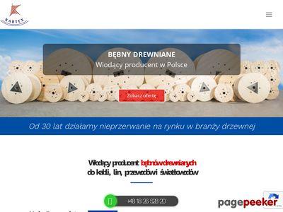 Produkcja bębnów kablowych