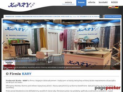 Producent tkanin bawełnianych, tkanin pościelowych i pościeli dziecięcej -- hurtownia tkanin Łódź.