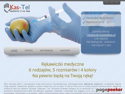 Rękawice, prezentuje Kas-Tel