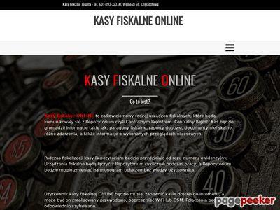 Kasy Fiskalne Online Częstochowa