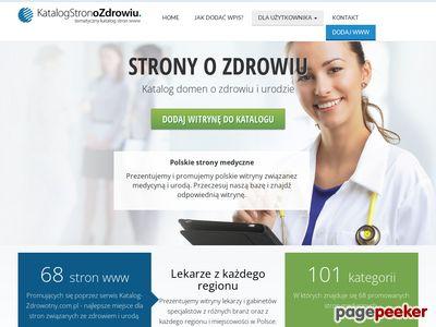 Katalog stron o zdrowiu i urodzie