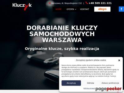 KLUCZYK Warszawa | Dorabianie Kluczy Samochodowych | Obudowy Kluczyków i Pilotów