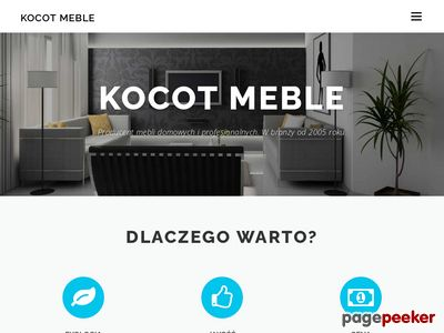 Łóżeczko dziecięce-kocot-meble.pl
