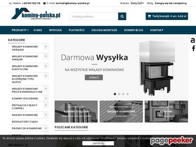 Kominy izolowane - Kominy-Polska.pl