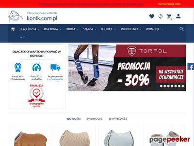 Internetowy Sklep Jeździecki Konik
