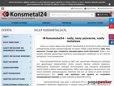 Sejfy na broń Konsmetal24.pl