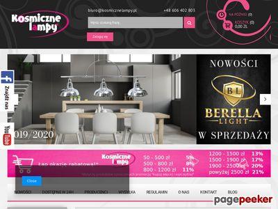 Lampy designerskie - sklep passioni.pl
