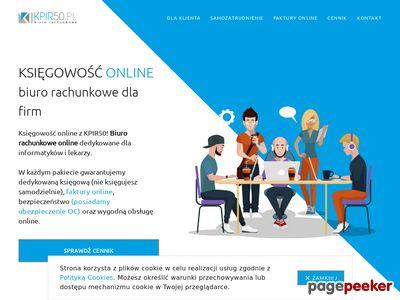 KSIĘGOWOŚĆ ONLINE INTERNETOWE BIURO RACHUNKOWE KPIR50.PL