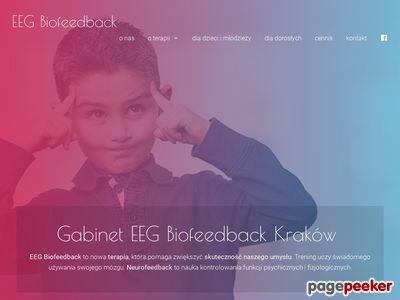 Biofeedback Kraków, trening, terapia EEG Prądnik