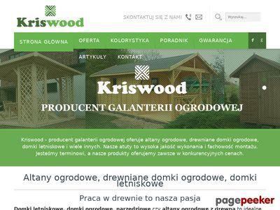 Kriswood.pl - dostawa i montaż na terenie całego kraju!