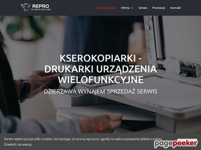 Repro Technika biurowa urzadzenia wielofunkcyjne Gliwice