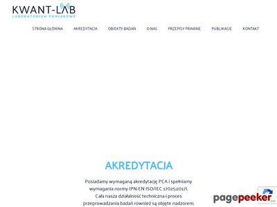 Akredytowane laboratorium pomiarowe