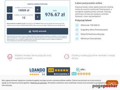 Pożyczka online - latwapozyczka.pl