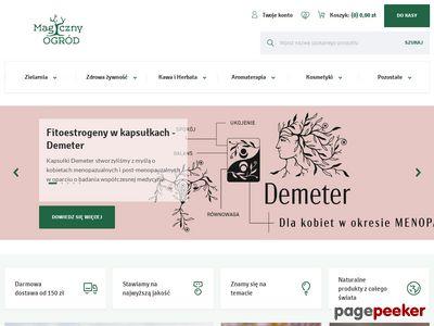 Internetowy sklep zielarski