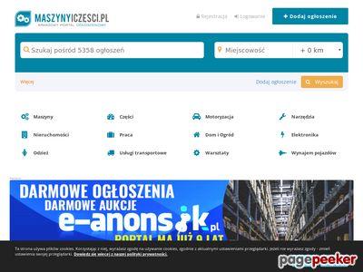 maszynyiczesci.pl - ogłoszenia