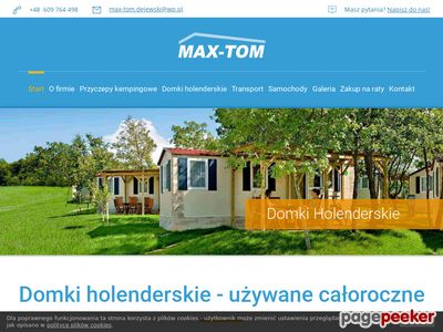 Zadbane domki holenderskie. Max-Tom