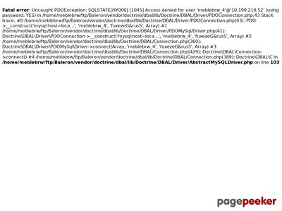 DOM Sp. z o.o. Meble Black Red White
