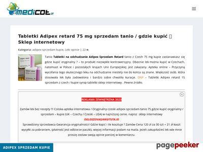 medicot.pl/adipex-retard-sprzedam