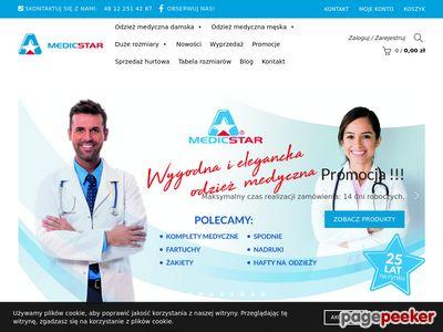 Odzież medyczna - Medicstar