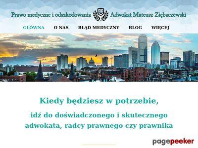 Prawnik adwokat prawo medyczne Łódź farmaceutycz Poznań
