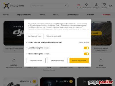 MegaDron | latające drony dla każdego