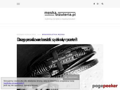 MęskaBiżuteria.pl - nowoczesna biżuteria dla mężczyzn