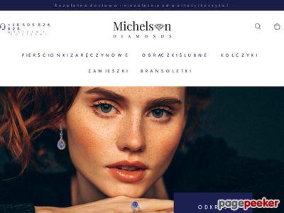 Michelson Diamonds - kolczyki
