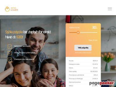 Mini-Credit.pl - chwilówki bez BIK