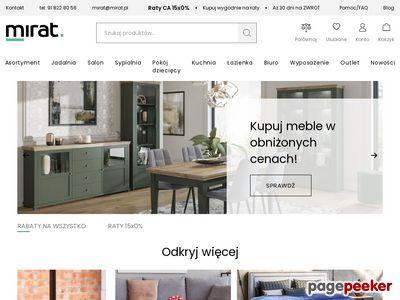 Mirat.eu - nowoczesny sklep meblowy