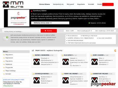 Wartościowy katalog - mmsuits.net